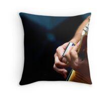 Break Neck Blues Throw Pillow