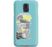 Sherlock Typography Art Samsung Galaxy Case/Skin