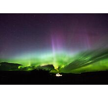 Dancing Aurora Isle of Skye Photographic Print