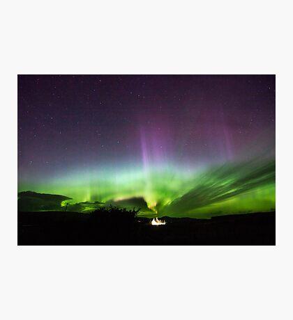 Dancing Aurora Isle of Skye Photographic Print