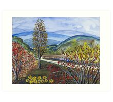 Albemarle Bridge Art Print