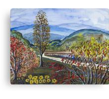 Albemarle Bridge Canvas Print