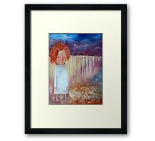 Tears Taker Framed Print