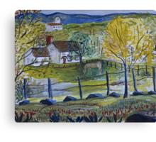 Country Scene Canvas Print