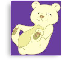 Kermode Bear Cub Canvas Print