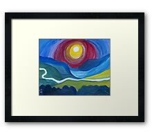 Morning Revelation Framed Print