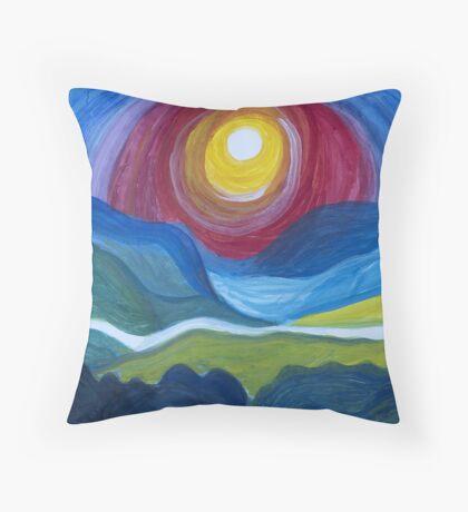 Morning Revelation Throw Pillow