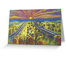 Road to Schuyler Greeting Card