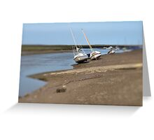 Synchronised Yachts Greeting Card