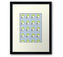 Punk Skull  Framed Print