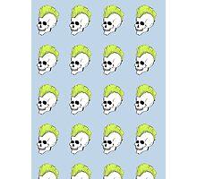 Punk Skull  Photographic Print