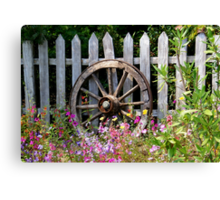 Country Garden Canvas Print