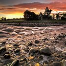 Hutt River Candy Shop Dawn by Ken Wright
