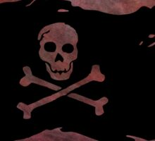 Pirate flag 41 by Chandra Nyleen Sticker