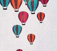 Air Balloon Parade by annisatiarau