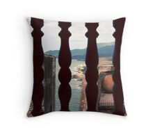 World from within Throw Pillow