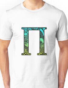 Pi Letter Doodle Unisex T-Shirt
