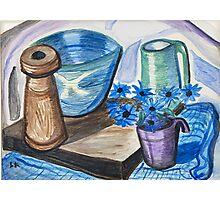Still Life with Ceramics Photographic Print