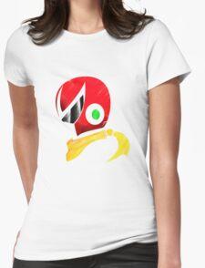 Protoman Helmet Shirt Womens Fitted T-Shirt