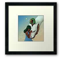 Unity - Fantasy Painting Practice Framed Print
