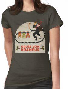 Gruss vom Krampus Womens Fitted T-Shirt
