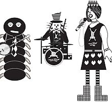 Punk Alice in Wonderland Characters by kmeyer