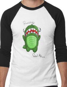 Hungry Dino Men's Baseball ¾ T-Shirt