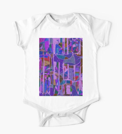 1022 Abstract Thought One Piece - Short Sleeve