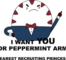 Peppermint wants YOU by personalityou