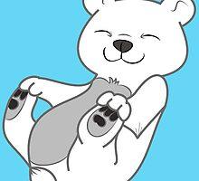 Polar Bear Cub by Grifynne