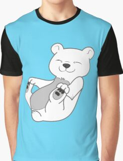 Polar Bear Cub Graphic T-Shirt