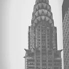 Chrysler Building (2) - Angular Crop by Amanda Vontobel Photography