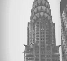 Chrysler Building (2) - Angular Crop by Amanda Vontobel Photography