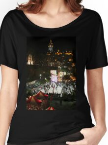 Edinburgh at Christmas and New Year Women's Relaxed Fit T-Shirt