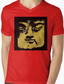 In the Shadow of the Golden Buddha Mens V-Neck T-Shirt