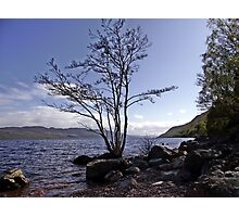 From the Shores of Loch Ness, Scotland Photographic Print