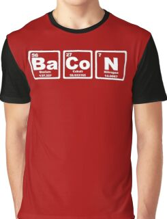 Bacon - Periodic Table Graphic T-Shirt