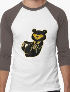Sun Bear Cub Men's Baseball ¾ T-Shirt