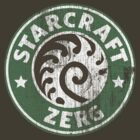 Starcraft Zerg - Washed Starbucks style by Wipi Oly