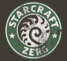 Starcraft Zerg - Washed Starbucks style by Piwoly