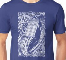 A Mad Man and His Blue Box Unisex T-Shirt