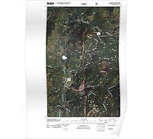USGS Topo Map Washington State WA Leadpoint 20110428 TM Poster