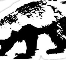 Honey Badger Zilla Sticker
