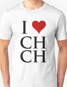 I Love Christchurch T-Shirt