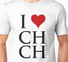 I Love Christchurch Unisex T-Shirt