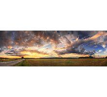 Hungarian skies pt.LXXII. Photographic Print