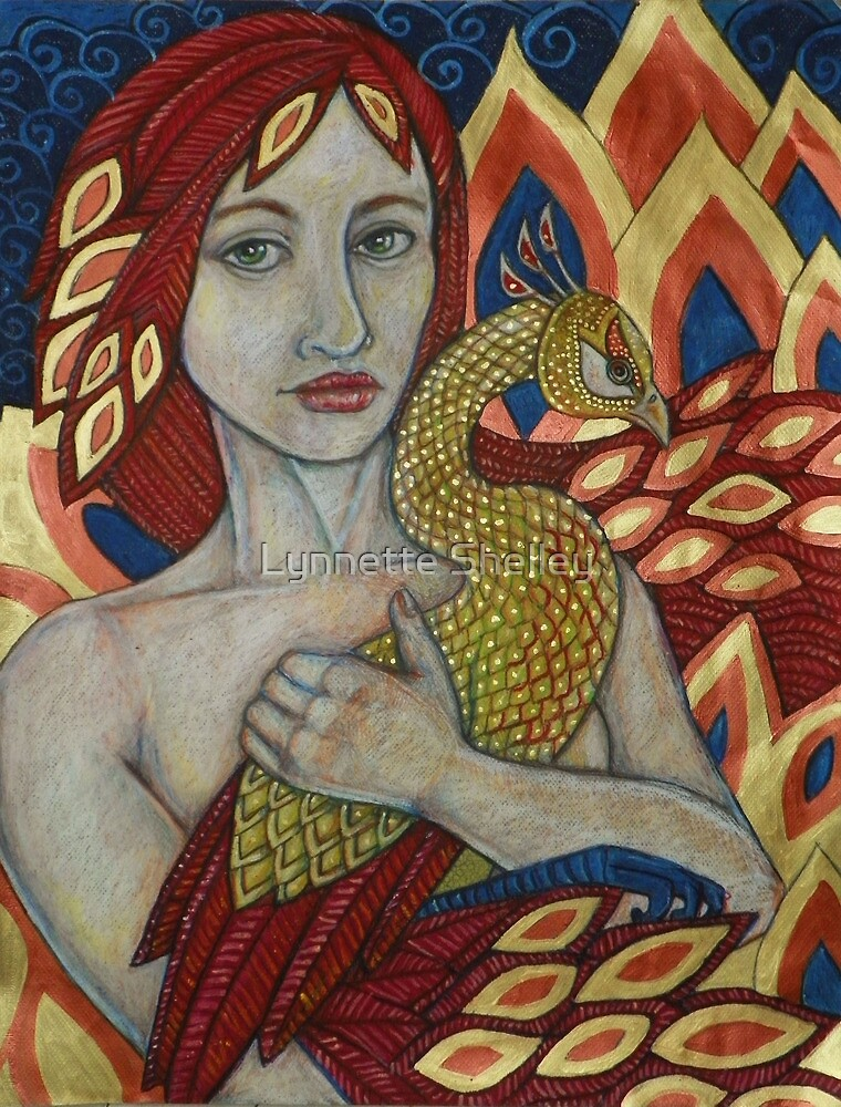 If I Were A Phoenix Bird by Lynnette Shelley
