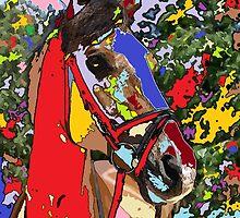 horse Portrait 1 by adriantovnodtov