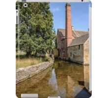 The old mill in Lower Slaughter iPad Case/Skin