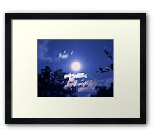 Experiments with Night Shooting #1 Framed Print